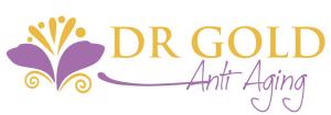 purple gold flower logo spa